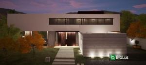 Illuminazione per esterni: come progettare con l'utilizzo di un software BIM Edificius