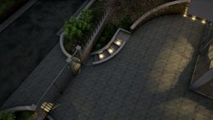 Lumières escalier extérieur