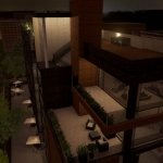 Vitrage-facade-continue Cuboid-House-Rendu-logiciel-BIM-Edificius