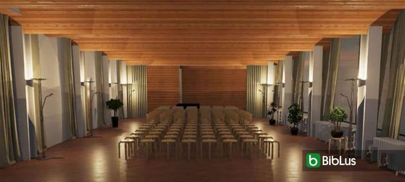 Le projet de la bibliothèque de Viipuri d'Alvar Aalto avec un logiciel BIM Edificius