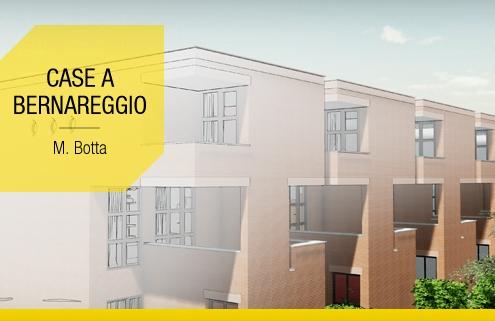 Maisons mitoyennes contemporaines d architectes celebres le projet de Botta avec les modelisations BIM et les plans DWG a telecharger Logiciel BIM Edificius