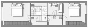Passau Neustift Plan du Premier Étage produit avec le logiciel BIM Edificius