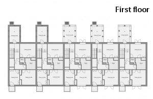 Plan du premier étage aperçu 300x195
