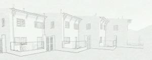 Projet INA Casa a Prato dello Stelvio de B. De Scarpis - rendu produit avec le logiciel BIM Edificius