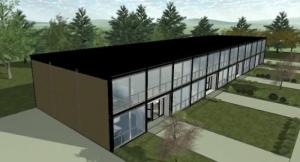 Maison mitoyenne Lafayette - Perspective - logiciel BIM d'architecture Edificiu