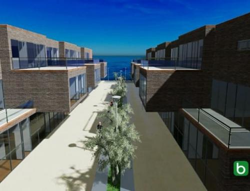 Les caractéristiques des maisons mitoyennes avec des dessins DWG et des modélisations 3D BIM à télécharger