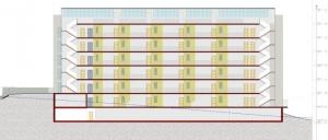 Coupe B-B Terrassa - logiciel BIM Edificius