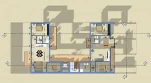 Logement social - Lecce -plan
