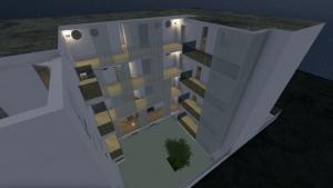 Modélisation de logement-social inspiré par un projet à Lecce