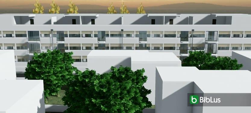 Projets célèbres d'habitat collectif en barre : architecture et projets à télécharger Logiciel BIM architecture Edificius