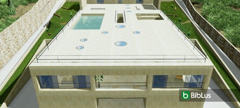 Maisons unifamiliales modernes: exemples et projets à télécharger-House-of-the-Infinite-logiciel-BIM-Edificius