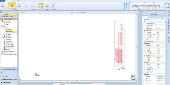 Boite à outils et paramétrages - Edificius -BIM