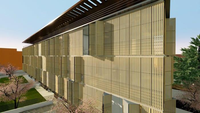 Habitations en barre: Trame d' Ombra -2