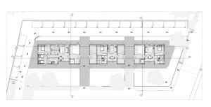 Plan d' ensemble RDC - logiciel BIM Edificius