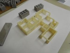 Impression 3D produite lors des TP