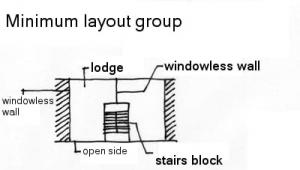 Maisons en barre -exposition des parois