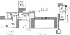 maison-unifamiliale-maison-Kaufmann-plan-général-rez-de-chaussée-logiciel-BIM-Edificius