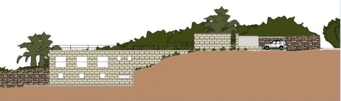 maisons-unifamiliales-modernes-House-of-the-Infinite-élévation-3-logiciel-BIM-Edificius