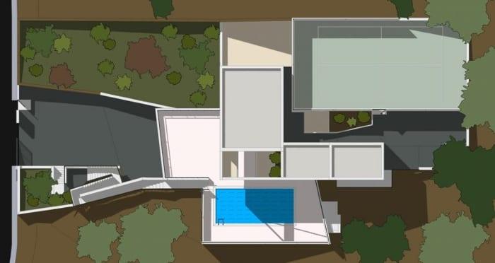 Maison unifamiliale à deux étages - planimétrie - logiciel BIM - Edificius