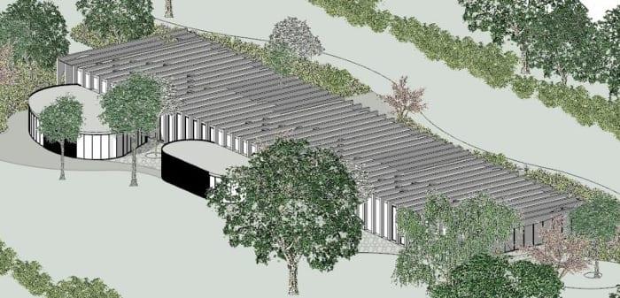 Axonométrie projets bâtiments - écoles -logiciel BIM architecture Edificius