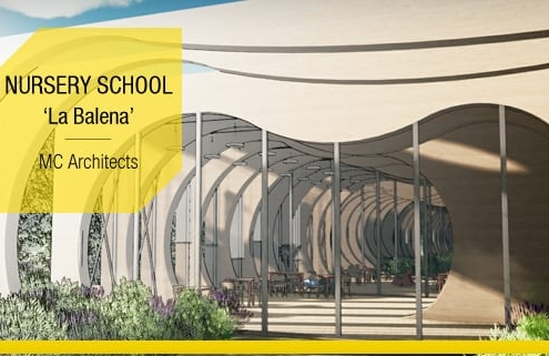 Conception architecturale d-une ecole projets en DWG a telecharger-NURSERY SCHOOL_La-Balena_MC-Architects