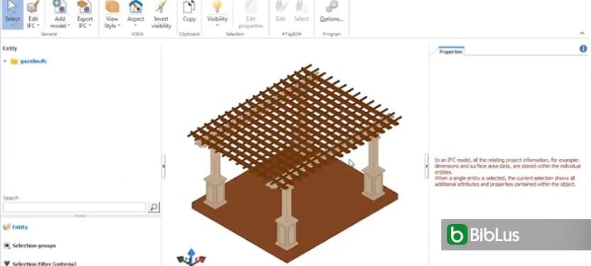 Convertir au format IFC modélisation 3D - visionneuse IFC usBIM viewer