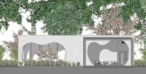 Coupes A-A - projets bâtiment écoles - logiciel BIM architecture Edificius