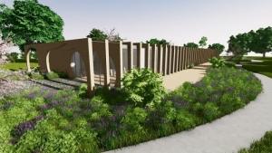 Façade de la crèche La Balena - Rendu de projets bâtiments d'écoles - logiciel BIM architecture Edificius