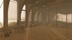 Fenêtre de la créche La Balena - Rendu projets écoles - logiciel BIM architecture Edificius