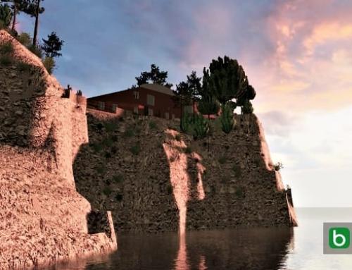 La maison la plus célèbre de Capri, Villa Malaparte: le projet complet à consulter et à télécharger