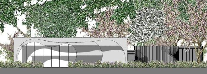 Perspective de projets bâtiments écoles -logiciel BIM architecture Edificius