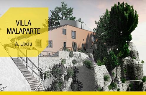 Villa Malaparte-Libera-La maison la plus celebre de Capri le projet complet a consulter et a telecharger-Edificius