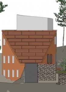 Villa Malaparte -perspective - logiciel BIM -d'architecture - Edificius