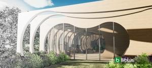 Conception architecturale d'une école: projets en DWG à télécharger