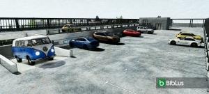 Conception de parking en format DWG - logiciel BIM Edificius