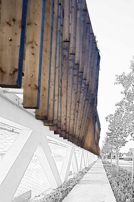 Parking Les yeux verts -Rendu graphique avec le logiciel BIM d'architecture Edificius