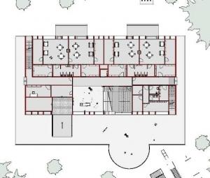 Plan du Rez-de-chaussée - Troplo Kids - Edificius