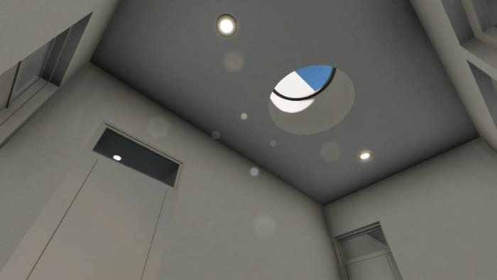 Conception du centre pour l'enfance -éclairage - rendu Edificius