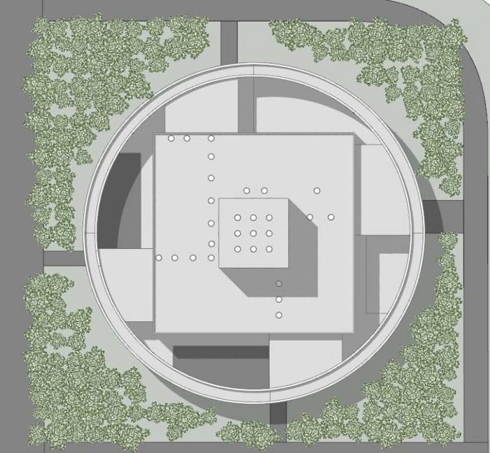Conception du centre pour l'enfance -planimétrie - logiciel Edificius