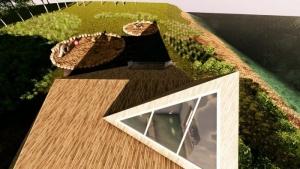 Crèche Raa: jardin - rendu du logiciel Edificius