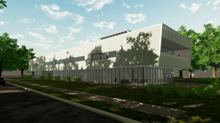 Clinique Harvey Pédiatrie - vue générale - Rendu de Edificius - logiciel BIM d'architecture