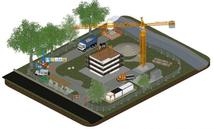 Modélisation 3D chantier -CerTus HSBIM