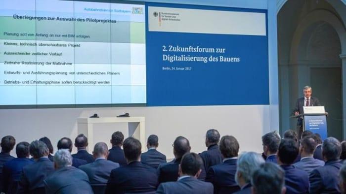 Eindruecke vom BIM Gipfel : La conférence annuelle de la commission ministerielle