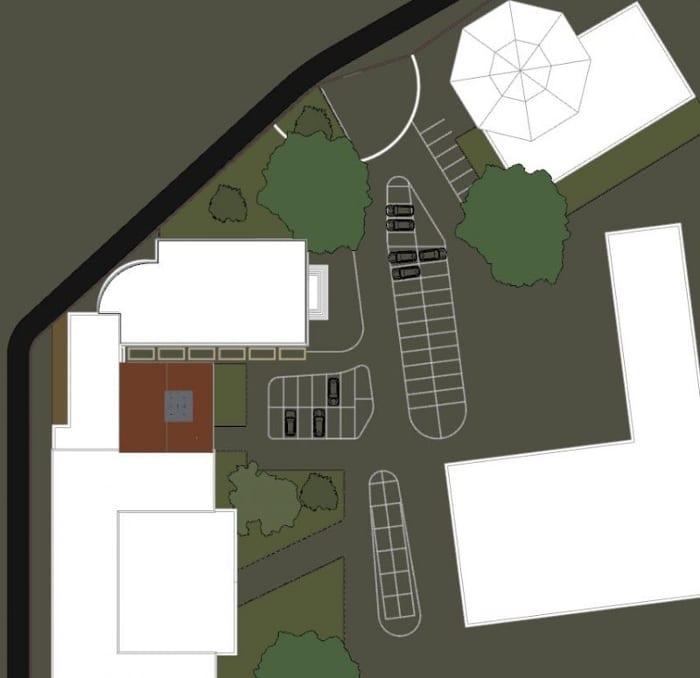 Planimétrie conception d'une bibliothèque - logiciel BIM d'architecture Edificius