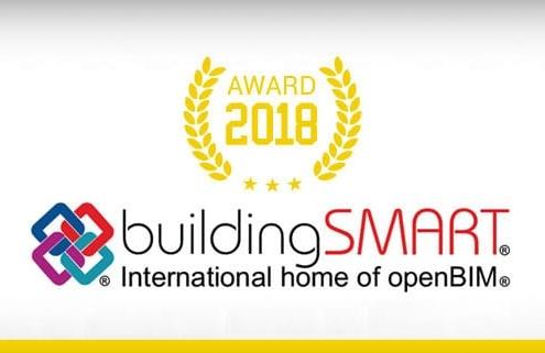 buildingSMART International Awards -lauréats de l' edition-2018 - En-Tete