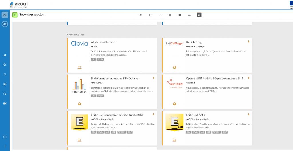 Edificius et Edificius LAND:les duex logiciels actuellement disponibles sur kroqi.fr