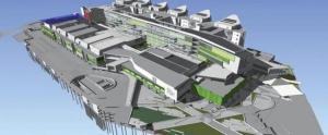 Modelisation BIM du Royal Adelaide Hospital en Australie réalisé avec un logiciel bim