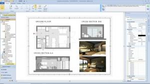 Conception d'un studio- tous les plans d'exécution avec Edificius le logiciel BIM pou l'architecture