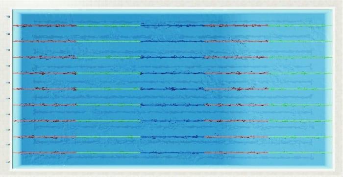 Comment dessiner un plan de piscine le guide d 39 introduction biblus - Dimension d une piscine olympique ...
