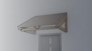 conception d'une marquise rendu graphique logiciel BIM architecture Edificius